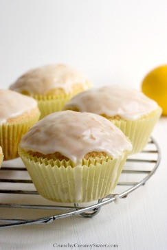 Lemon-Muffins-with-Glaze