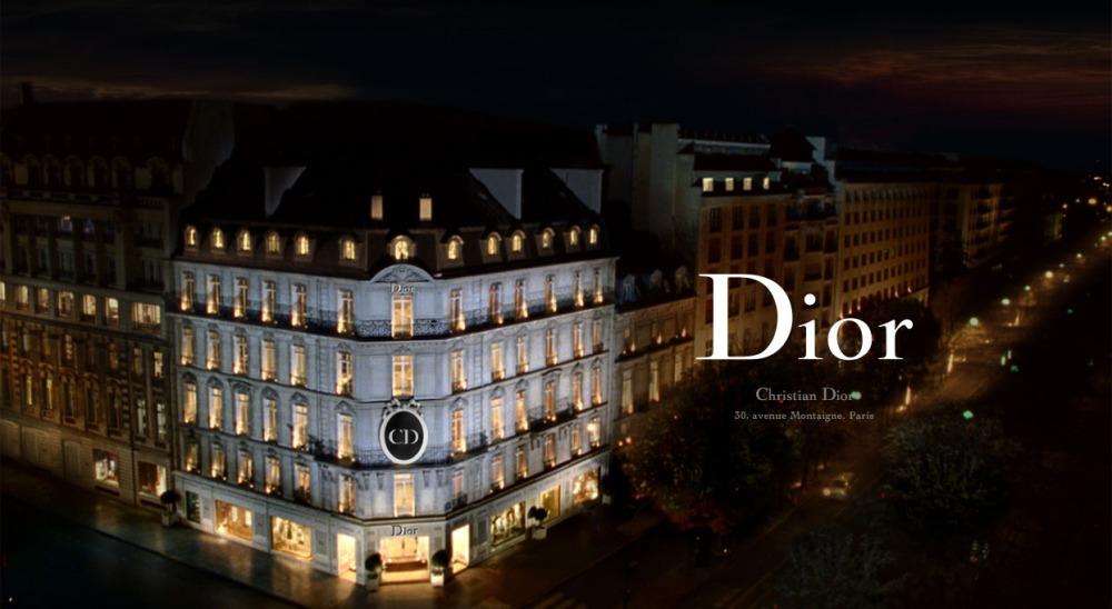 Christian Dior 30 avenue Montaigne Minuit Paris