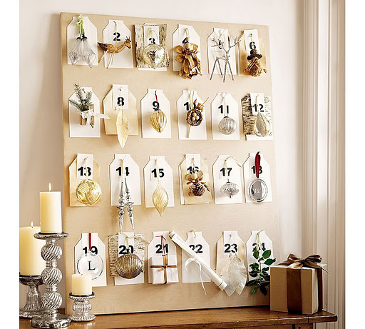 christmas-advent-calendar-ideas-days-till-christmas-craft-gifts-on-mantel-ornamnets-fireplace-board-centerpiece-easy-kids-carft-diy-fun-cute-shabby-chic-decoration