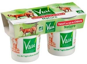 yaourts lait de chèvre