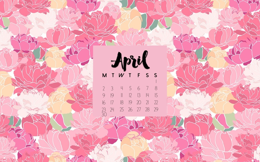April-2018-Floral-Calendar-Wallpaper